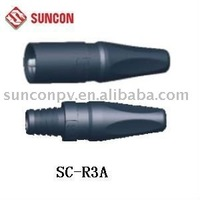 hot  product MC3 solar pv cable rubber connector SC-R3A,100%posititive+high quality+ feedback+competitive price+free shipping