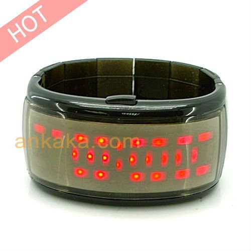 Anno Domini - Japanese Style LED Watch (Red)(China (Mainland))