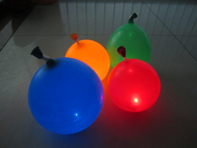New Arrival Flash Balloon! Free Shipping Promotional 50pcs/lot Led