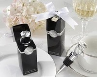 20pcs/lot Wedding Favors gift crystal design Wine bottle plug Stoppers Party Favour stopple
