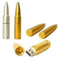 Free shipping Bullet USB disk 4B/16GB/8GB   usb flash memory  100% Real Capacity usb drive + free gift box
