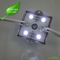 CE and ROHS certificated waterproof Led Module with 4pcs 5050 SMD Led, Free shipping,100pcs/lot