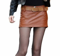 Shorts For Women Sexy Ladies Soft Pants Autum New Arrival Women Narrow Opening PU Shorts Wholesale Retail Free Shipping WC2606