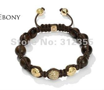 Wholesale Shamballa Bracelets, Shamballa jewelry crystal Bracelets Micro Pave CZ Disco Ball Bead, free shipping, CP-X12