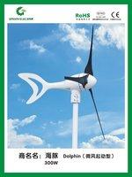 DC 300w turbine /controller/wind solar hybrid controller /DC wind generator