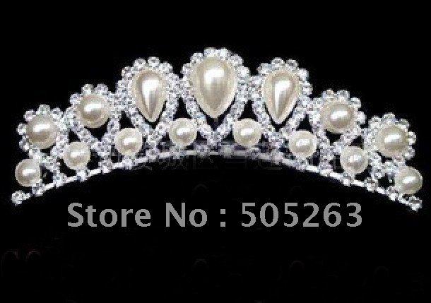 new wedding bridal tiara crown hair flower headdress hair accessories