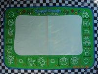 1pcs/lot Free shipping 1 pcs Mat+ 1 Pen size 80*55CM American Aquadoodle Aqua Doodle Mat&1 Magic Pen/Water Drawing Replacement