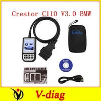 Fast shipping super C110 Auto Scan OBDII/EOBD Code Reader OBD2 code scanner C110  for BMW code scanner