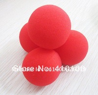 New Magic Trick 4 Sponge Balls Red Soft 2 Inch  4 Red balls/set