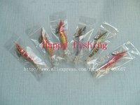 Luminous Squid Jig wood shrimp Sample Set Enjoy Retail Convinenc at Wholesale Price