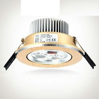 Dimmer Recessed LED Celling spotlights Wholesale 6W LED Downlights warmwhite led ceiling light AC85-265V energy-efficient