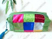 Free shipping! 12pcs New Fashion Women  18 collage Lady  Wallet/Purse Handbag makeup bag,Coin Bag case