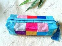 Free shipping! 100pcs New Fashion Women  18 collage Lady  Wallet/Purse Handbag makeup bag,Coin Bag case