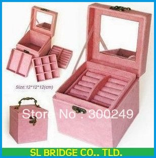 multideck jewellery box excellent multideck jewel case Freeshipping High quality  E11427SL