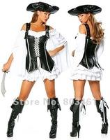 Captain Marauder Costume Black O28021