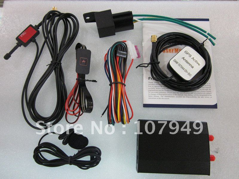 GPS tracker TK102 accessories,hard wired car changer,freeshipping and wholesale