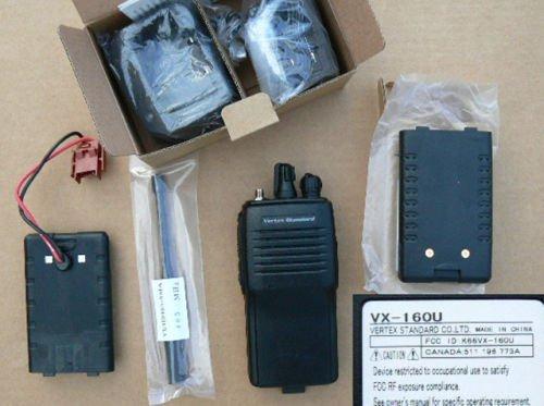 Handheld VHF FM Transceiver Vertex Standard VX-160 VOX+CTCSS/DCS+DHL Free Shipping(China (Mainland))