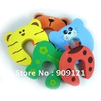Wholesale !  50pcs/lot Five Color Baby Safety Helper Door Stop Finger Pinch Guard Protecting Child From Hurt