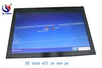 22inch all in one pc with touch screen/industrial panel pc/Intel D5251.8G CPU