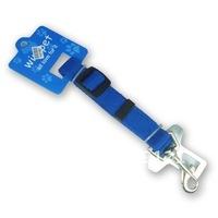 Wholesale Promotion ! 50 Pcs/lot  Blue Pet Seat Belt Lead Clip
