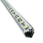 white /warm white SMD5050 72Led/meter  led aluminium rigid strip light