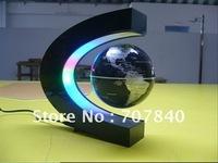 LED Electronic LED Light Wireless Power Magnetic Levitation Floating World Map 3 inch Antigravity Globe Magic Gift