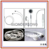 Good quality Headphone For Apple iPod/iPhone/iPad, MP3 MP4 Player 3.5mm In-Ear Earphone Headphone-White Color freeshipping
