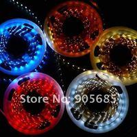 Free Shipping RGB LED Strip 5M SMD 3528 Strip 300 LED Light Flexible LED Light Strips 60leds/Meters