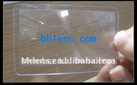 100pc/pack  PVC Card Magnifier
