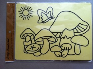 Free shipping 1100pcs/lot Sticker cards for sand art wholesales, sand art cards, only cards, wholesale