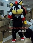 Hot sale! mascot costumes black Knuckles Sonic  for sale  anime carnival costume Halloween Dress kids party free shipping