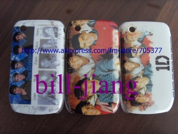 One Direction hard back case cover for Blackberry curve 8520  100pcs/lot   free shipping
