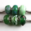 Wholesale - 48x Fashion New Mixed Charms Lampwork Beads Fit Bracelet or necklace diy 150559(China (Mainland))