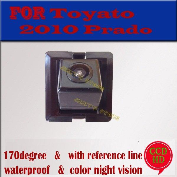 Color CCD HD car rear view camera parking monitor reverse camer backup camera for toyota 2010 LAND CRUISER PRADO night vision(China (Mainland))