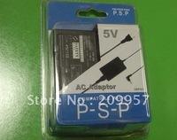 Free shipping,100pcs/lot Portable AV power adapter Travel Charger for PSP 1000&2000&3000