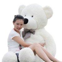 xmas gift high quality  teddy bear plush  soft  stuffed toys 3 color to choose freeshipping