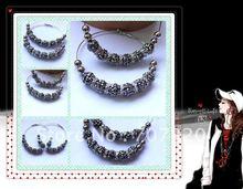 Hot selling Mesh ball earring  /spike earring / rhinestone ball earring Free shipping(China (Mainland))