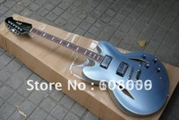 custom Dave Grohl signature DG335 jazz Semi Hollow blue Electric Guitar HOT SALE