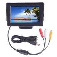 Car Rearview Monitor 4.3&amp;quot; Color LCD Car Rearview Mirror for Camera
