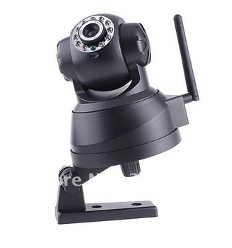 Free shipping !EasyN Wireless IP Camera webcam Web CCTV Camera Wifi Network IR NightVision P/T With Color BOX,