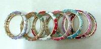 Free Shipping! 100 Rhinestone cloisonne bracelets,bracelet bangle,style bracelet,bracelet jewelry,fashion jewelry,wedding bangle