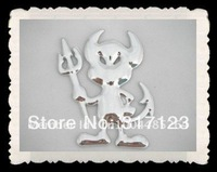 30PR/lot Free Shipping New 3d PVC Devil Cool Car Stickers Decals  Bumper Stickers graphics on car From China