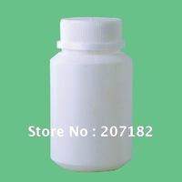 Free shipping (100sets/lot) 100ml PE round bottle,medicine bottle,plastic bottle