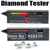 Free Shipping V2 Diamond Tester Gemstone Selector Jewelry Watcher Tool LED+Audio NEW