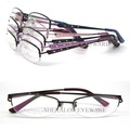 7193 half titanium optical eyeglass frames  Stainless steel half-rim glasses frame wholesales free shipping eyeglasses