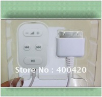 Remote Control for ipad,iphone4s/4/3Gs/3G/Wire control buttons for ipad,ipod,iphone/headphones port