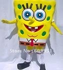 Hot sale! lovely  spongebob Cartoon mascot costume  for sale  anime carnival costume Halloween Dress kids party