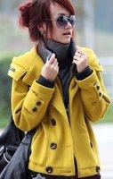Женская одежда из кожи и замши Women's Long Down Jacket, Drop Shipping Korea Design, High Quality, Wool Leather, 3 Days Leading, Cheap, /1 Pcs Lot-KK959