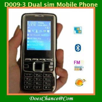 D009-3 Dual sim Russian keyboard Big speaker torch cellphone