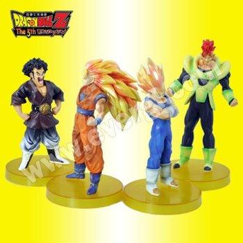 "5.5"" Japanese Anime Dragon Ball Collection Figures Set/ 4pcs free shipping"